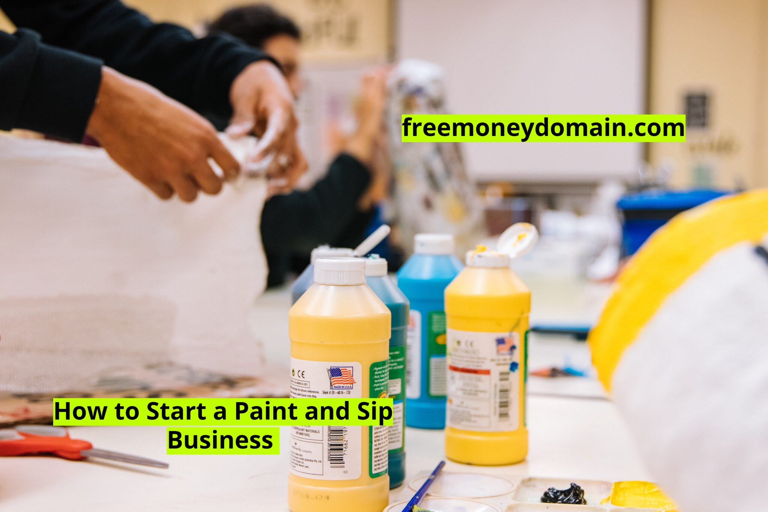 How to Start a Paint and Sip Business in 2021