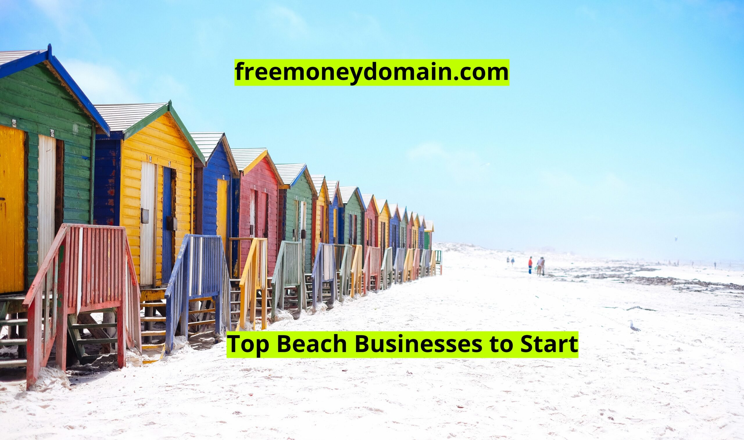 Top Beach Businesses to Start in 2021